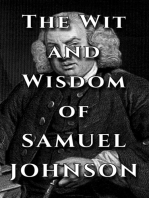 Samuel Johnson Quote Ultimate Collection - The Wit and Wisdom of Samuel Johnson
