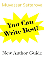 You Can Write Best! New Author Guide