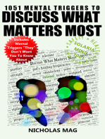 1051 Mental Triggers to Discuss What Matters Most