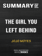 Summary of The Girl You Left Behind by Jojo Moyes | Trivia/Quiz for Fans