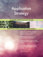 Application Strategy Complete Self-Assessment Guide
