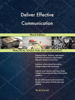 Deliver Effective Communication Third Edition