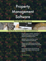 Property Management Software Standard Requirements