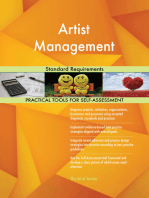 Artist Management Standard Requirements