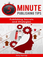 5 Minute Publishing Tips