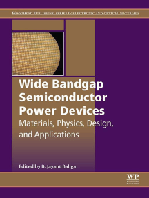 Wide Bandgap Semiconductor Power Devices: Materials, Physics, Design, and Applications