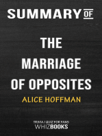Summary of The Marriage of Opposites By Alice Hoffman | Trivia/Quiz for Fans