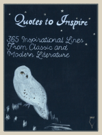 Quotes to Inspire