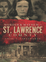 Murder & Mayhem in St. Lawrence County