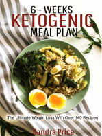 6-Weeks Ketogenic Meal Plan