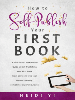 How to Self-Publish Your First Book