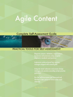 Agile Content Complete Self-Assessment Guide