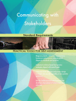 Communicating with Stakeholders Standard Requirements
