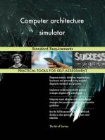 Computer architecture simulator Standard Requirements