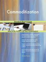 Commoditization Standard Requirements