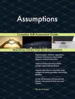 Assumptions Complete Self-Assessment Guide
