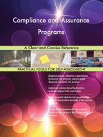 Compliance and Assurance Programs A Clear and Concise Reference
