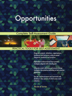 Opportunities Complete Self-Assessment Guide