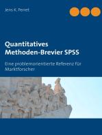 Quantitatives Methoden-Brevier SPSS
