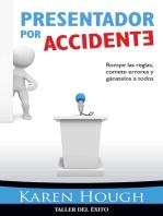 Presentador por accidente