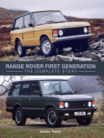 Range Rover First Generation: The Complete Story
