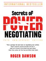 Secrets of Power Negotiating,15th Anniversary Edition
