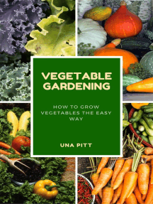 Vegetable Gardening: How to Grow Vegetables The Easy Way