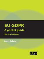 EU GDPR - A pocket guide, second edition