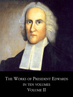 The Works of President Edwards, In Ten Volumes, Volume II
