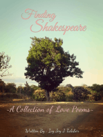 Finding Shakespeare ( A Collection of Love Poems)