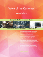 Voice of the Customer Analytics Complete Self-Assessment Guide