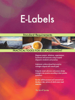 E-Labels Standard Requirements