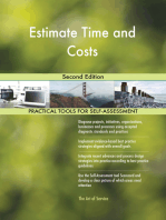 Estimate Time and Costs Second Edition