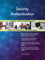 Security Authentication A Clear and Concise Reference