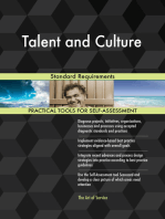 Talent and Culture Standard Requirements