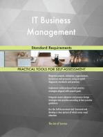 IT Business Management Standard Requirements