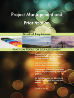 Project Management and Prioritization Standard Requirements