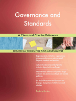 Governance and Standards A Clear and Concise Reference