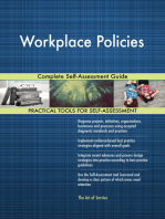 Workplace Policies Complete Self-Assessment Guide