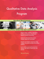 Qualitative Data Analysis Program Standard Requirements