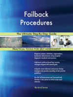 Failback Procedures The Ultimate Step-By-Step Guide
