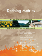 Defining Metrics A Clear and Concise Reference