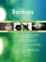 Backups Complete Self-Assessment Guide