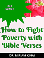 How to Fight Poverty with Bible Verses 2nd Edition
