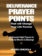Deliverance Prayer Points That Will Change Your Life Forever