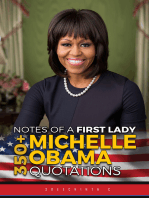 Notes of a First Lady