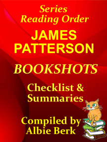 James Patterson: Bookshots - Series Reading Order - with Checklist & Summaries