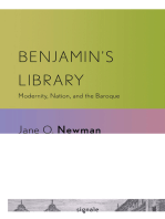 Benjamin's Library: Modernity, Nation, and the Baroque