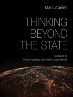 Thinking beyond the State