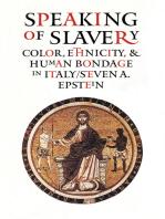 Speaking of Slavery